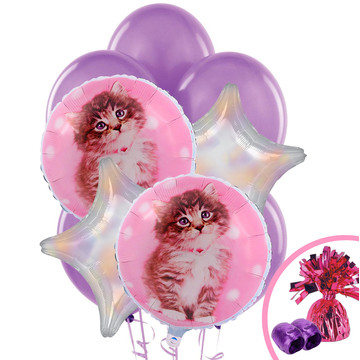 Glamour Cats Balloon Bouquet by Rachael Hale
