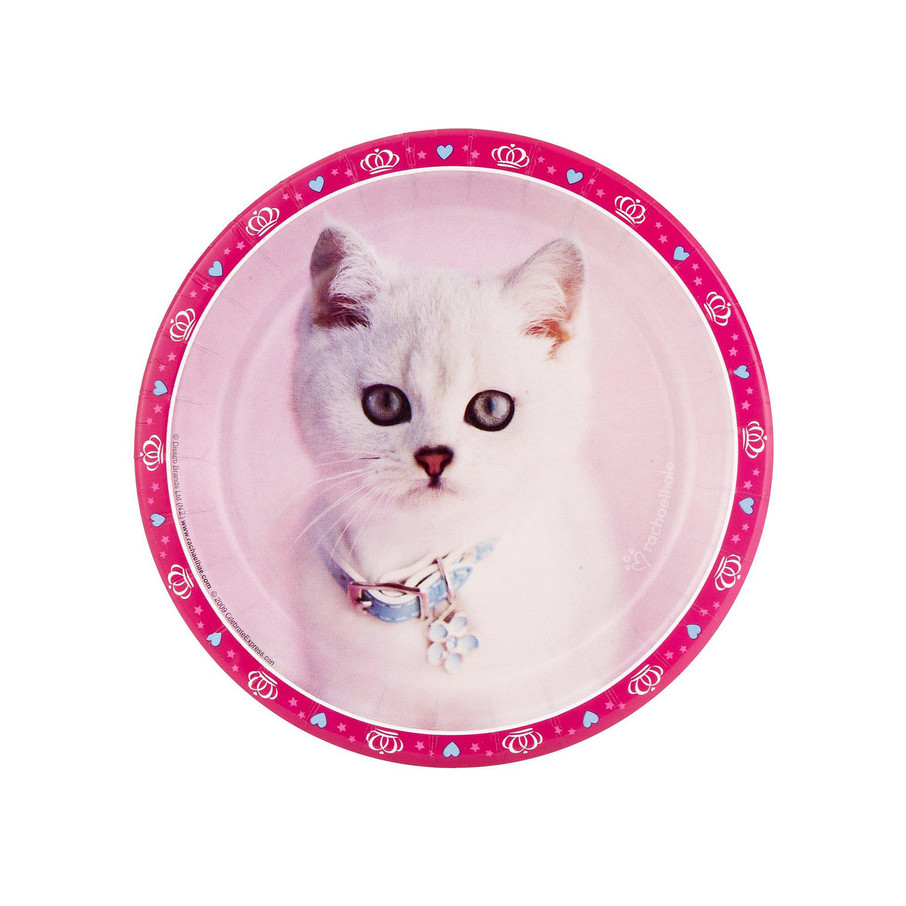 View larger image of Glamour Cats Dessert Plates by Rachael Hale (8)