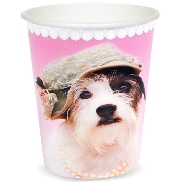 Glamour Dogs 9 oz. Paper Cups by Rachael Hale (8)