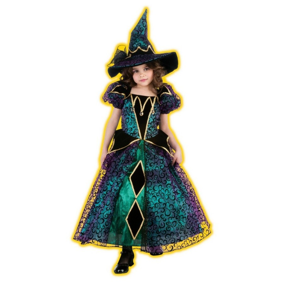 View larger image of Radiant Witch Kids Costume
