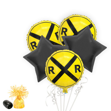 Railroad Balloon Bouquet Kit
