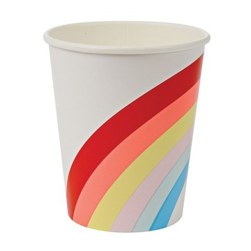 Rainbow 9oz. Paper Cups, 12ct