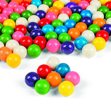 Rainbow Assortment Gumballs 1 lb. 4 oz