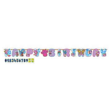 Rainbow Butterfly Unicorn Kitty Banner (1)