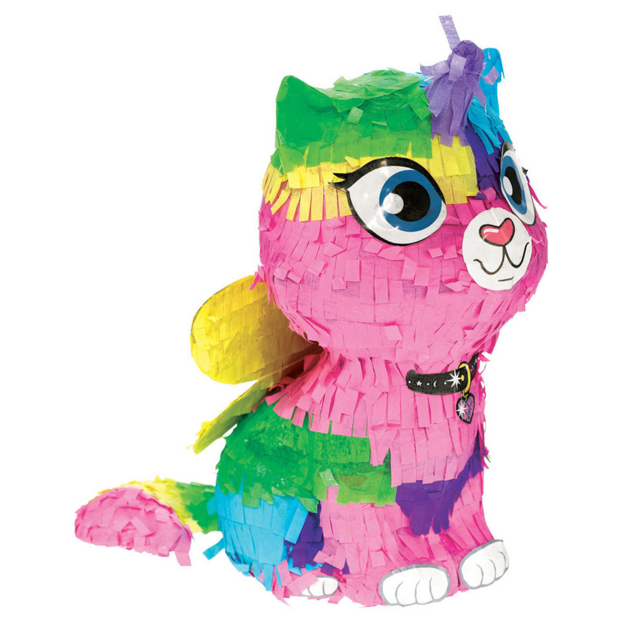 View larger image of Rainbow Butterfly Unicorn Kitty Mini Decoration (1)