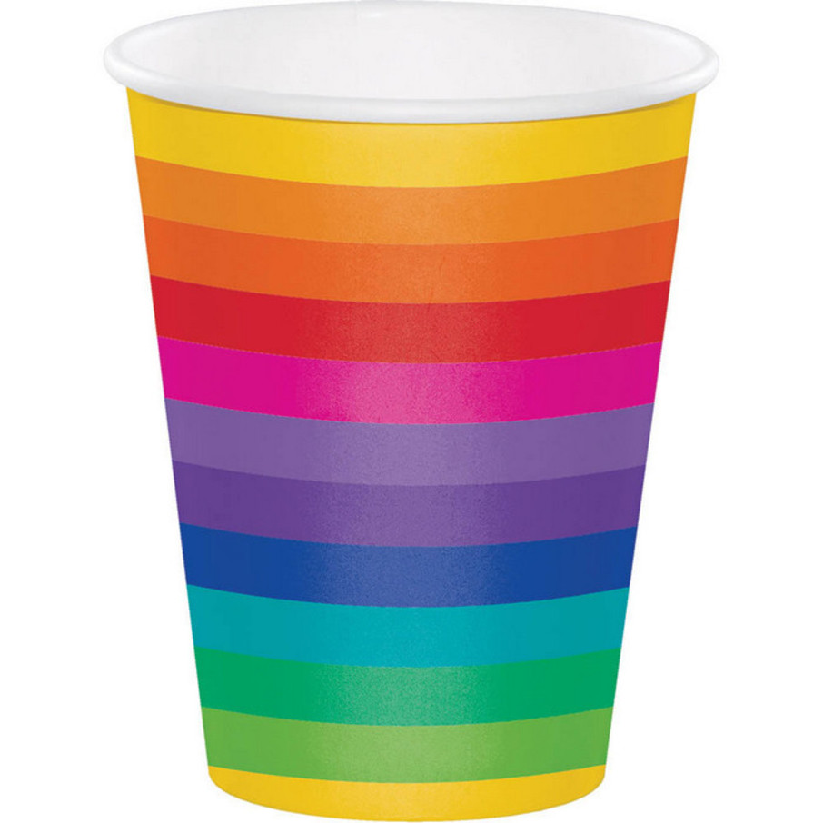View larger image of Rainbow Hot/Cold 12oz Cup (8)
