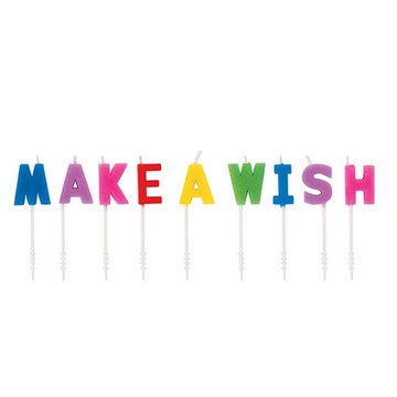Rainbow Make-a-Wish Cake Picks