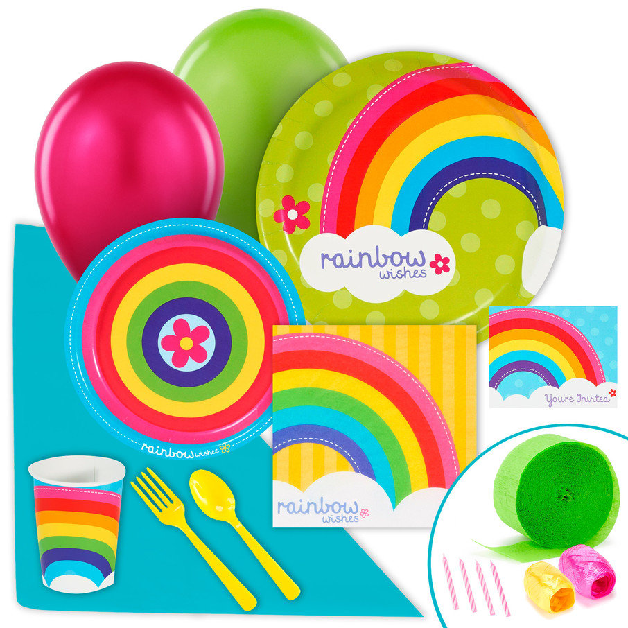 View larger image of Rainbow Wishes Value Party Pack