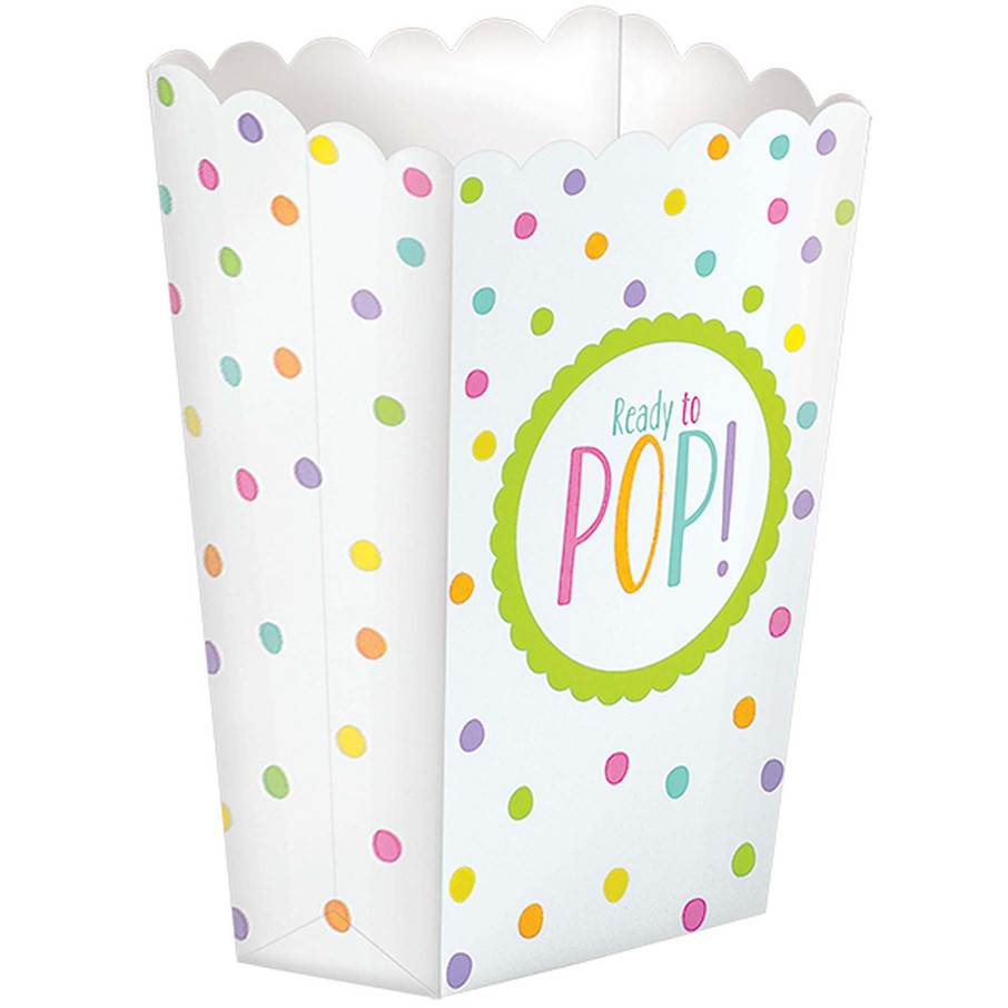 View larger image of Ready to Pop Baby Shower Favor Popcorn Boxes (20 Count)