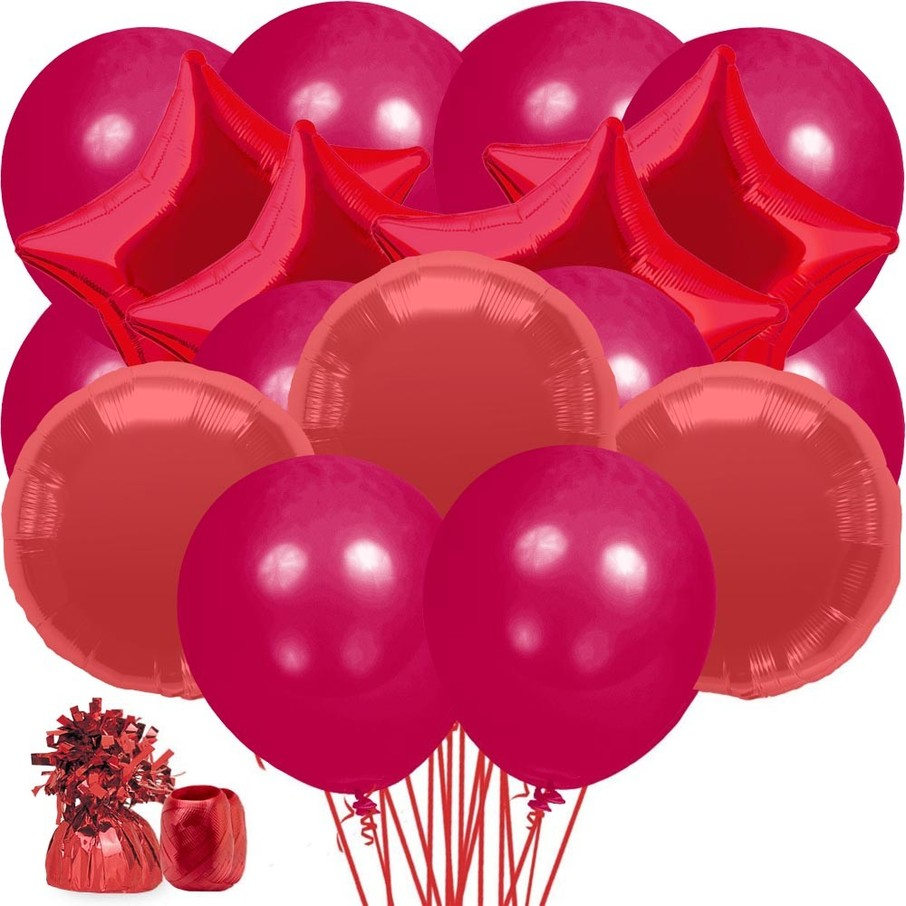 View larger image of Red Balloon Bouquet Kit