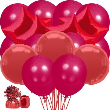 Red Balloon Bouquet Kit