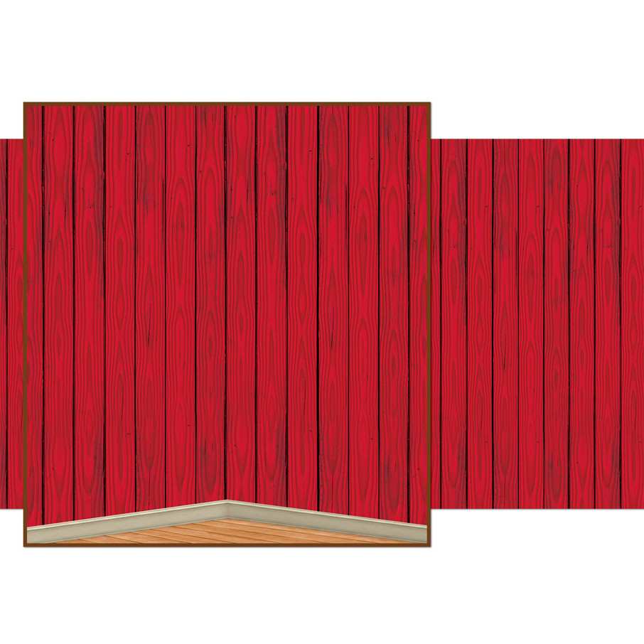 View larger image of Red Barn Siding Backdrop
