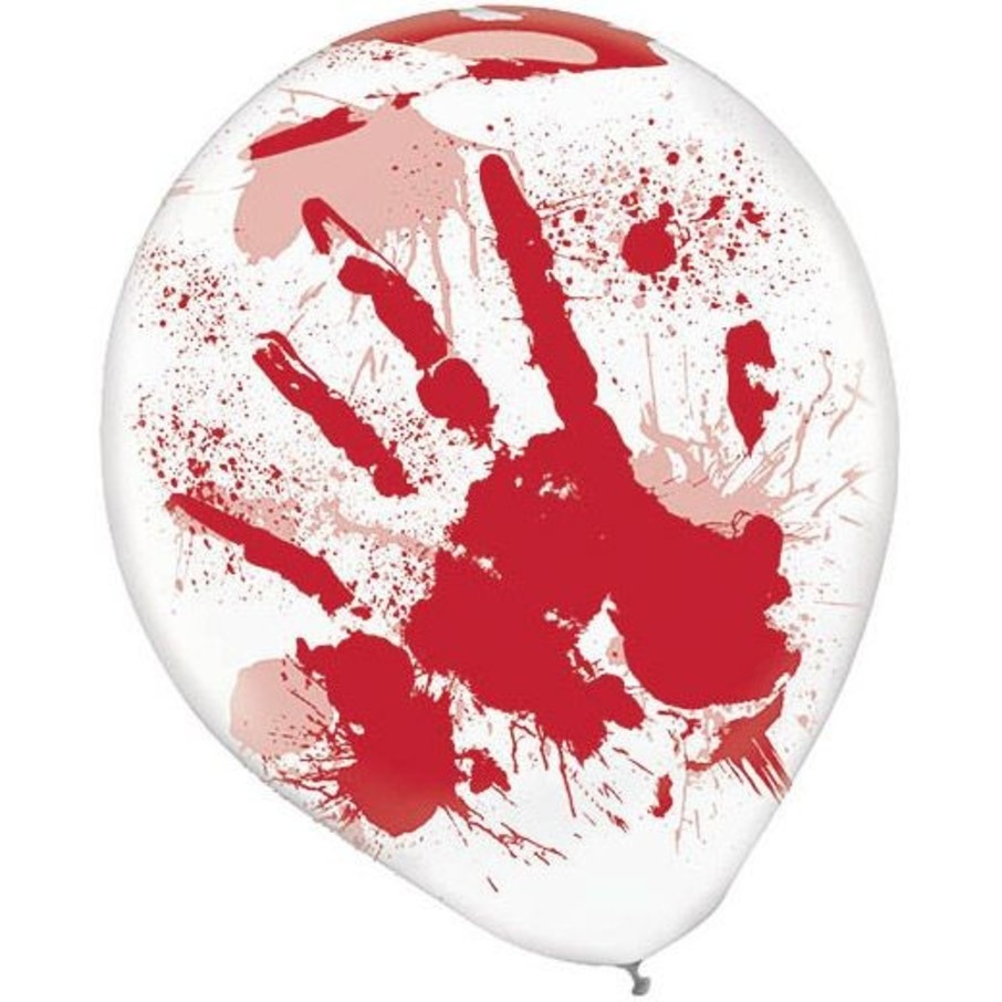 View larger image of Red Blood Splatter Balloons (6 Pack)