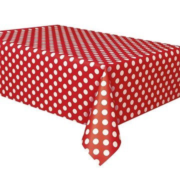 Red Dots Table Cover (Each)