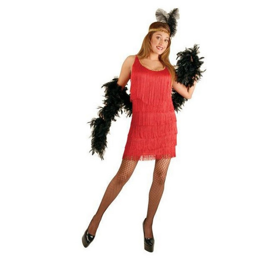 View larger image of Red Fashion Flapper Adult Plus Costume