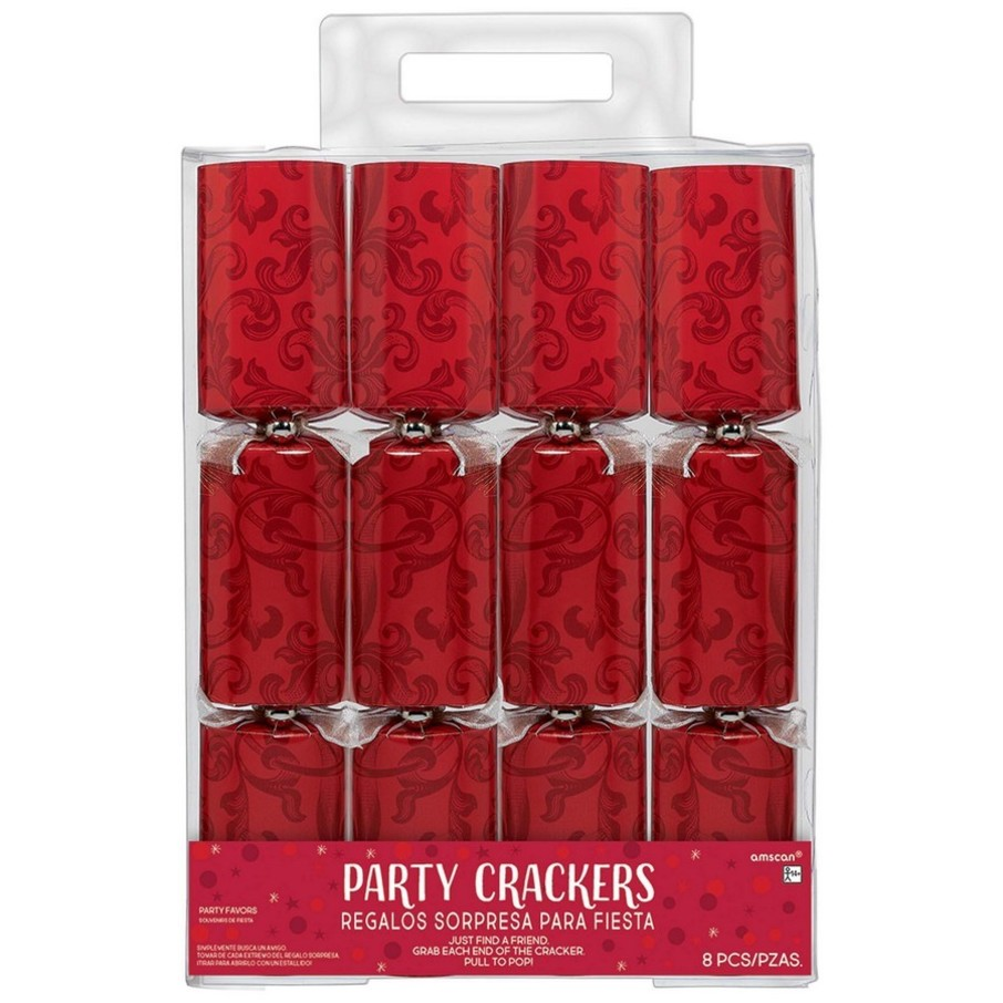 View larger image of Red Holiday Crackers