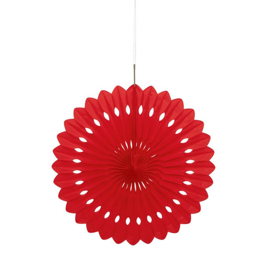 View larger image of Red Paper Fan (1)