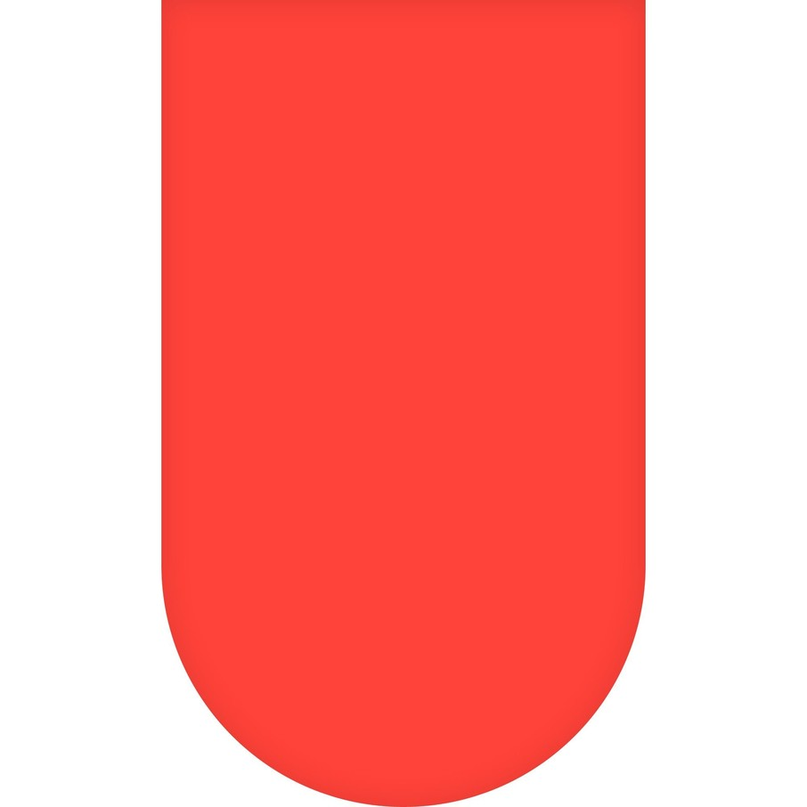 View larger image of Red Round Plastic Tablecover, 84""