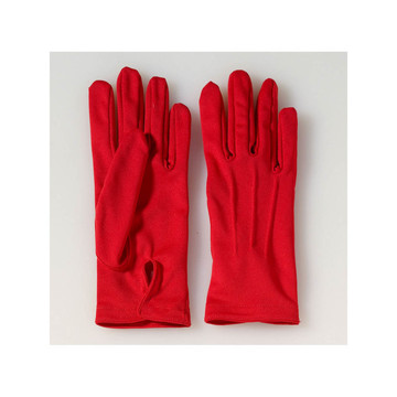 Red Short Gloves