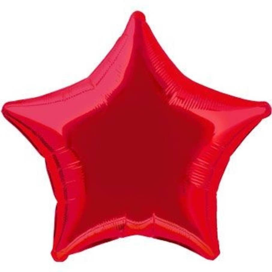 View larger image of Red Star Mylar Balloon (each)