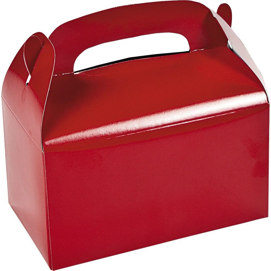 View larger image of Red Treat Favor Boxes (12)