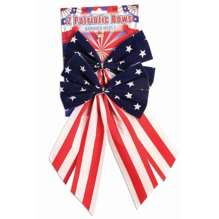 View larger image of Red, White & Blue Patriotic Bows (2 Count)