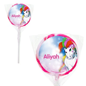 "Regal Pony Personalized 2"" Lollipops (20 Pack)"