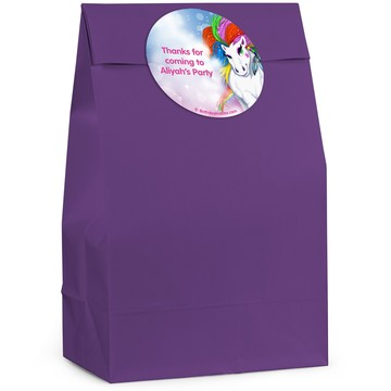 Regal Pony Personalized Favor Bags (12 Pack)