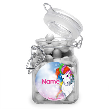 Regal Pony Personalized Glass Apothecary Jars (12 Count)
