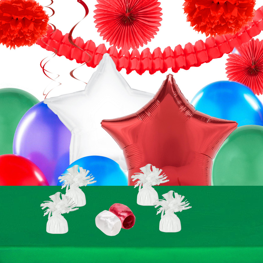 View larger image of Reindeer Christmas Party Deco Kit