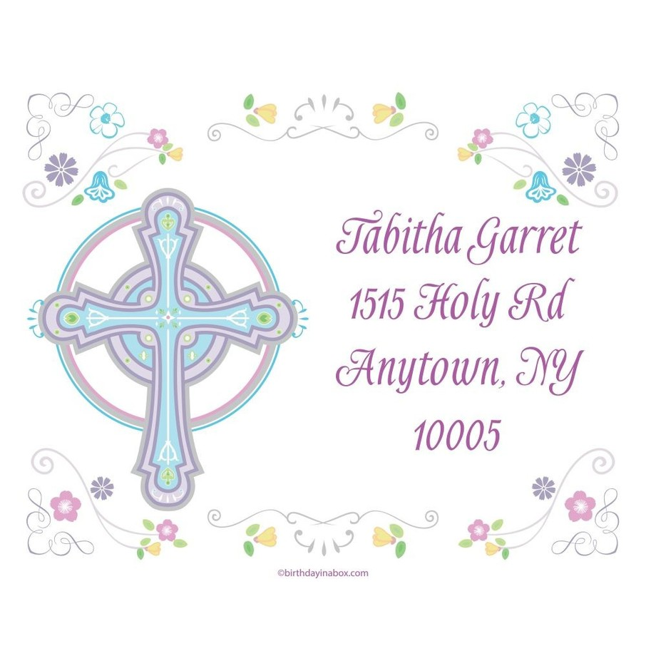 View larger image of Religious Party Personalized Address Labels (Sheet of 15)
