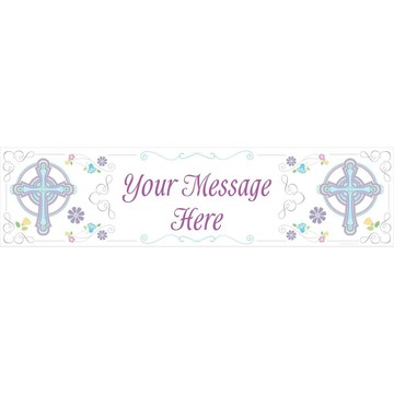 Religious Party Personalized Banner (Each)