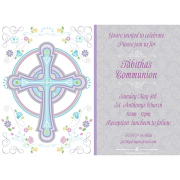 Religious Party Personalized Invitation (Each)