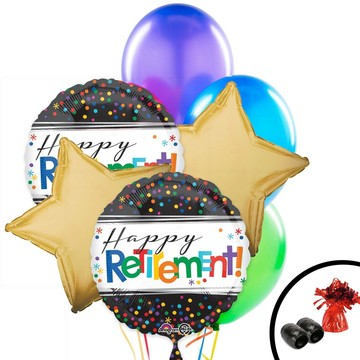 Retirement Balloon Bouquet