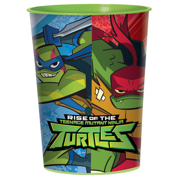 Rise of the TMNT 16oz Plastic Favor Cup (1)