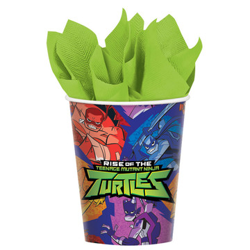 Rise of the TMNT 9oz Paper Cups (8)