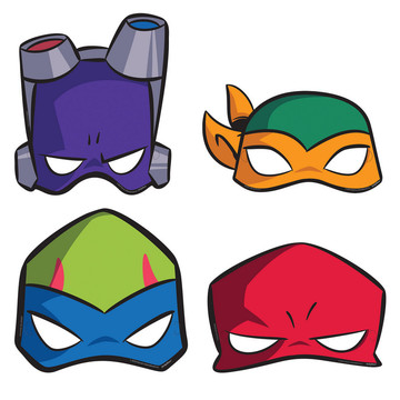 Rise of the TMNT Paper Masks (8)