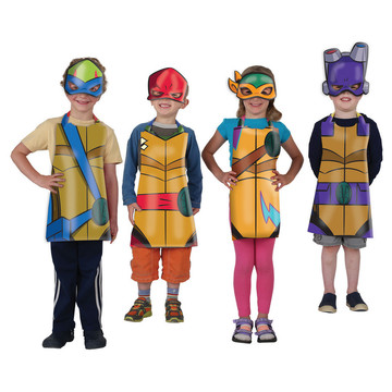 Rise of the TMNT Wearables Set