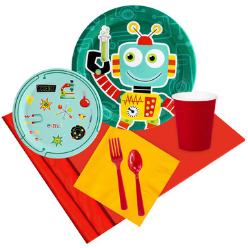 Robot Science 16 Guest Party Pack