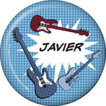 Rock Star Personalized Button (each)