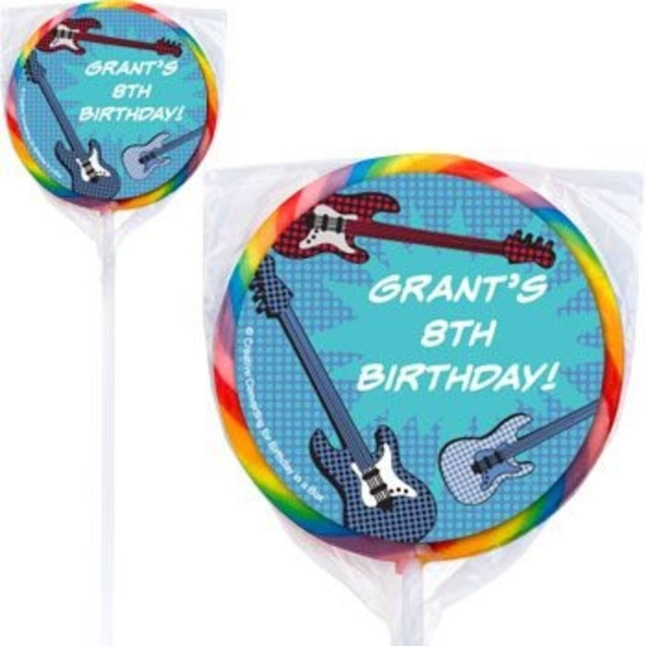 View larger image of Rock Star Personalized Lollipops (pack of 12)