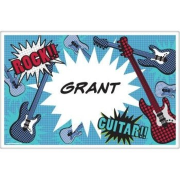 Rock Star Personalized Placemat (each)
