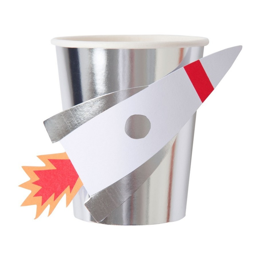 View larger image of Rocket 9oz Paper Cups, 8ct