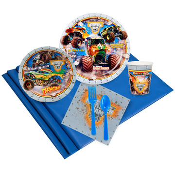 Monster Jam 3D 24 Guest Party Pack
