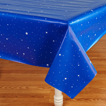 Rocket to Space Theme Tablecover