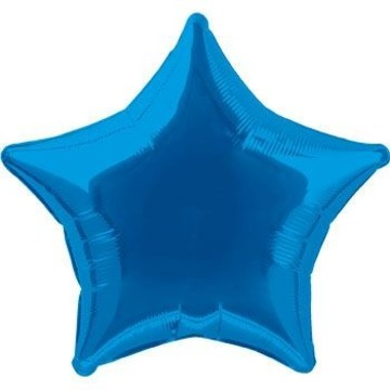 Royal Blue Star Balloon (each)
