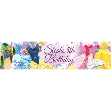 Royal Princess Personalized Banner (Each)
