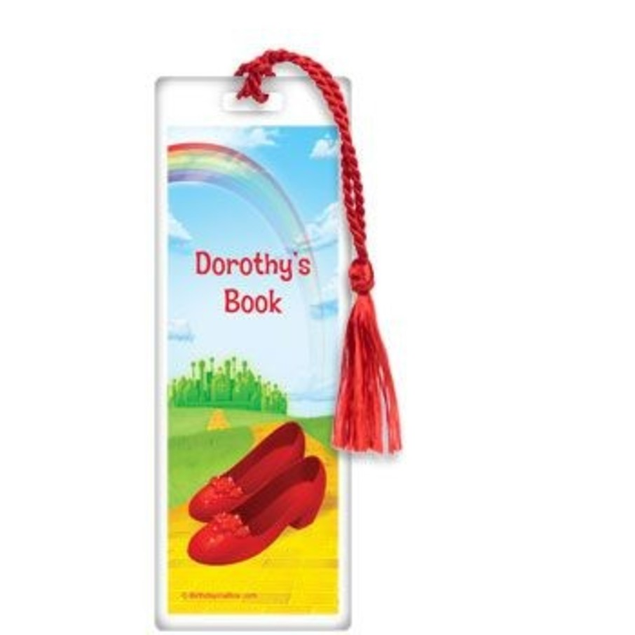 View larger image of Ruby Slippers Personalized Bookmark (each)