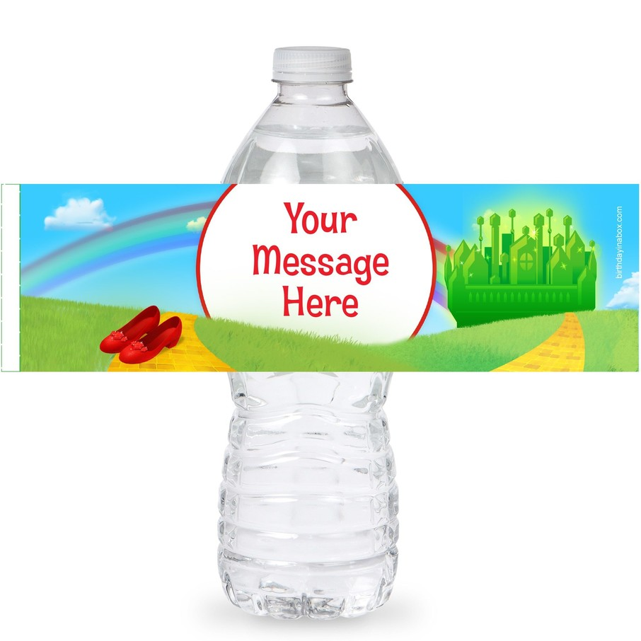 View larger image of Ruby Slippers Personalized Bottle Labels (Sheet of 4)