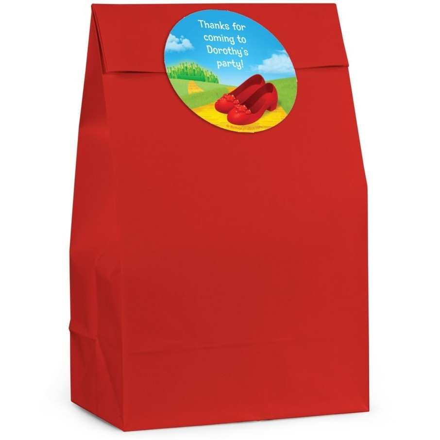 View larger image of Ruby Slippers Personalized Favor Bag (Set Of 12)